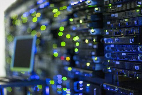 Illuminated server room panel - HOXF00857