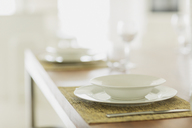 Close up placesetting on table - HOXF00968