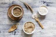 Rye ears, rye flakes, rye flour and rye grains - EVGF03283