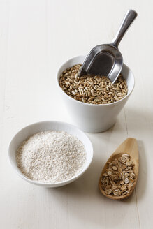 Rye flakes, rye flour and rye grains - EVGF03286