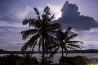 indonesia, Lombok, Indian ocean, coastline in the evening - KNTF01048