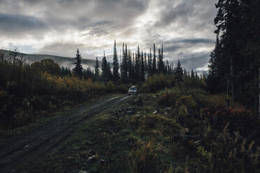 Canada, British Columbia, Kitimat-Stikine A, Highway 37, van - GUSF00324