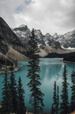 Canada, Alberta, Valley of the Ten Peaks, Banff National Park, Moraine Lake - GUSF00339