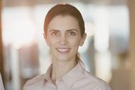 Portrait smiling, confident businesswoman - HOXF01174