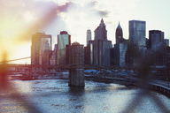 Cityscape view of New York at sunset - HOXF02173