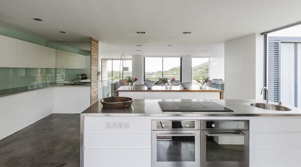 Modern, minimalist home showcase interior kitchen - HOXF02344