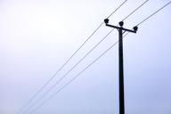 Power lines under overcast sky - CAIF06027