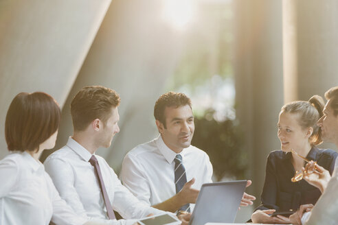 Business people talking in conference room meeting - CAIF06222