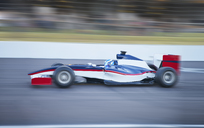Side view formula one race car on sports track - CAIF06416