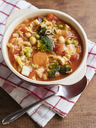 Minestrone, vegetable soup - HAWF00995