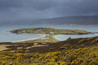 Scenic view of Badcall Bay, Sutherland, Scotland - CAIF07509