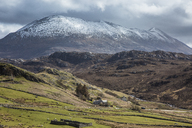 Scenic landscape and mountain view, Scotland - CAIF07512