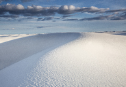 Tranquil white sand dune, White Sands, New Mexico, United States, - CAIF07584