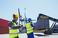 Workers near cargo containers - CAIF07647