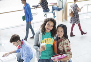 University students smiling - CAIF08207