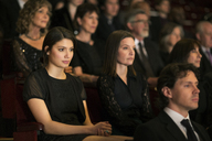 Serious theater audience - CAIF08225