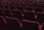 Seats in empty theater auditorium - CAIF08390