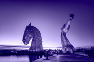United Kingdom, Scotland, Falkirk, Sculptures The Kelpies - SMA00972