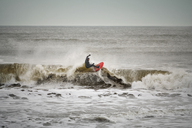 Man surfing in sea - CAVF05087