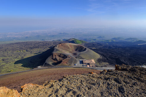 Italy, Sicily, Mount Etna, Crater Silvestri with Bar Crateri Silvestri - LBF01850