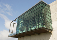 Glass bump out on building - CAIF13402