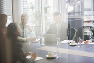 Business people meeting in conference room - CAIF14188