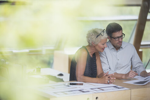 Business people working together in office - CAIF14869