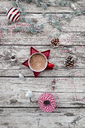Hot Chocolate and Christmas baubles - LVF06778