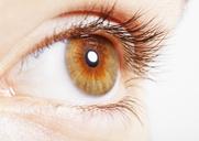 Extreme close up of hazel eye - CAIF17707