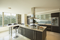 Sunny modern domestic kitchen - CAIF17857