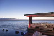 Cabana and infinity pool overlooking ocean - CAIF17941