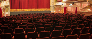 Empty chairs in theater - CAIF18415