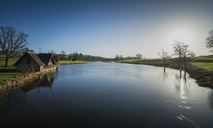 Ireland, Kildare, Maynooth, Carton boathouse - STCF00409