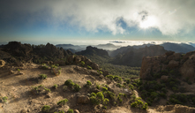 Spain, Canary Islands, Gran Canaria, view from Roque Nublo - STCF00427