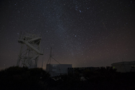 Spain, Canary Islands, Tenerife, Teide observatory at night - STCF00457