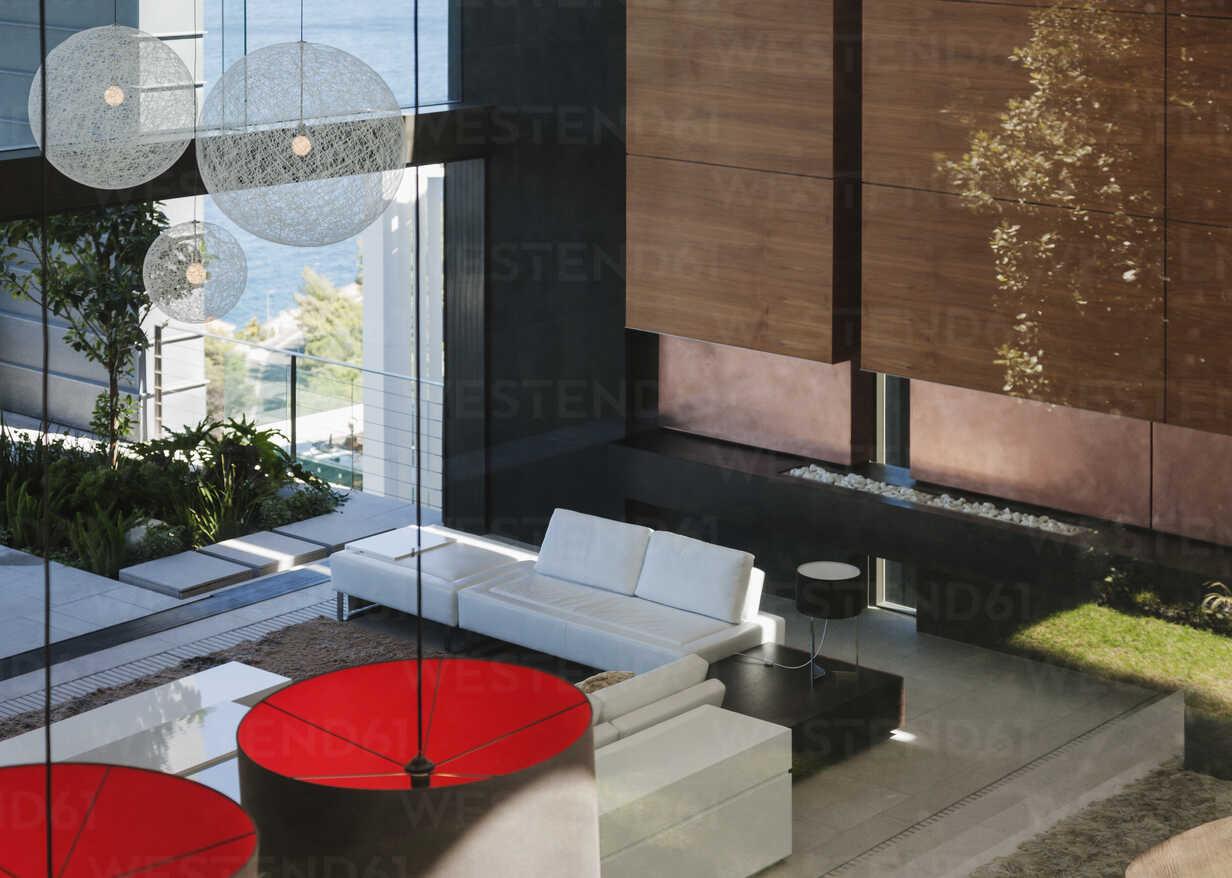 Modern living room in open floor plan - CAIF18968 - Astronaut Images/Westend61