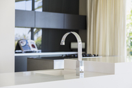 Faucet and sink in modern kitchen - CAIF19931