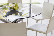 Modern dining table and chairs - CAIF19949