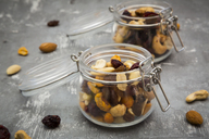 Two glasses of trail mix - LVF06802
