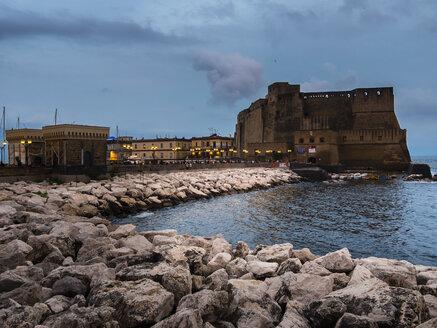 Italy, Campania, Naples, Castel dell'Ovo - AMF05676