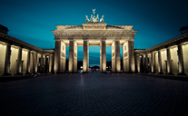 Germany, Berlin, Brandenburg Gate at night - STCF00487