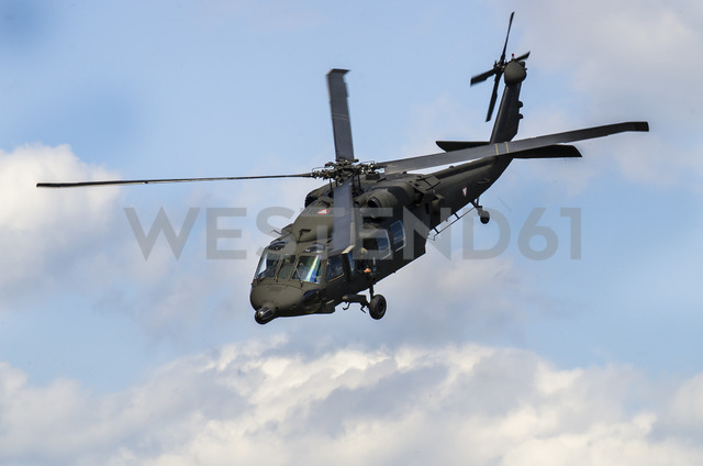 Austria, Styria, military helicopter Black Hawk, Austrian Armed Forces - STC00502