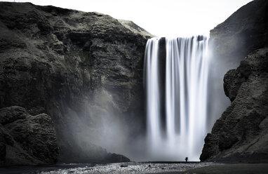 Iceland, Skogafoss Waterfall - STCF00514