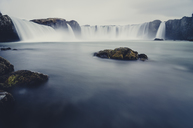 Iceland, Godafoss Waterfall - STCF00541
