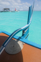 Maldives, view on seaplane at a resort - ZEF15245