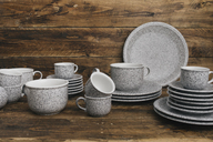 Coffee set in granite look - SKCF00351