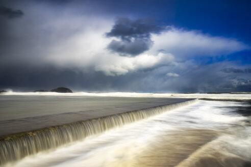 United Kingdom, Scotland, East Lothian, North Berwick, east coast, winter storm - SMAF00983