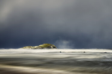 United Kingdom, Scotland, East Lothian, North Berwick, east coast, winter storm - SMAF00992