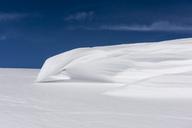 Italy, Abruzzo, Gran Sasso e Monti della Laga, Abstract of snow in Campo Imperatore - LOMF00709