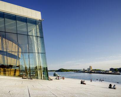 Oslo Opera house at sunset - FOLF00883
